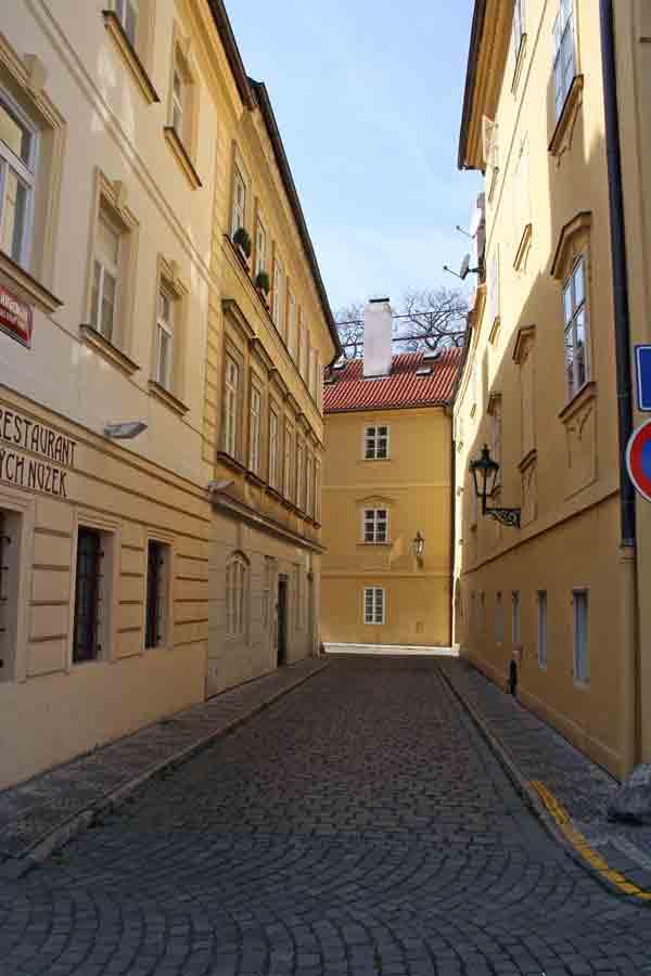 Prague City Street